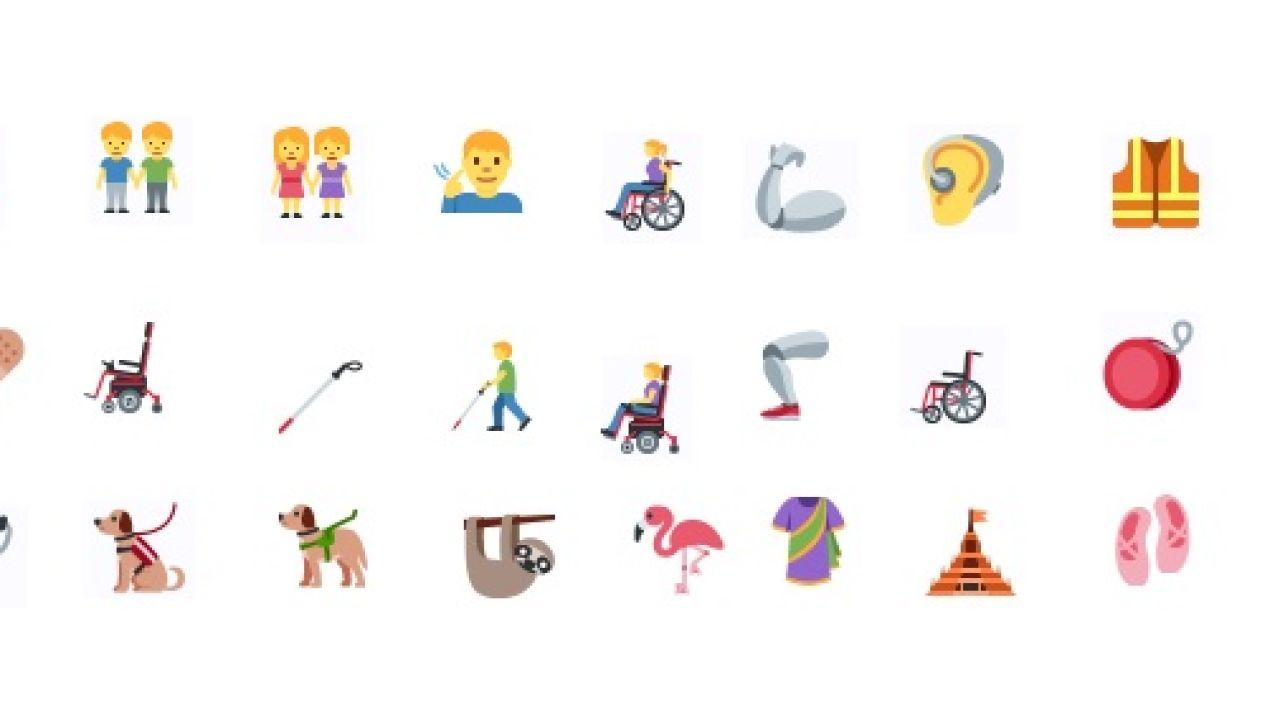 Estos son los nuevos emojis inclusivos que llegarán en otoño a los 'smartphones'