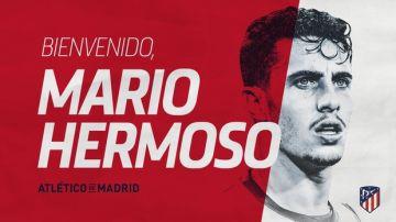 Mario Hermoso, nuevo jugador del Atlético de Madrid