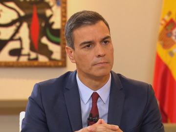 Entrevista a Pedro Sánchez en Al Rojo Vivo desde Moncloa
