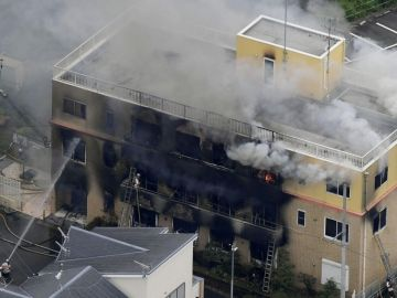 Incendio en los estudios de Kyoto Animation