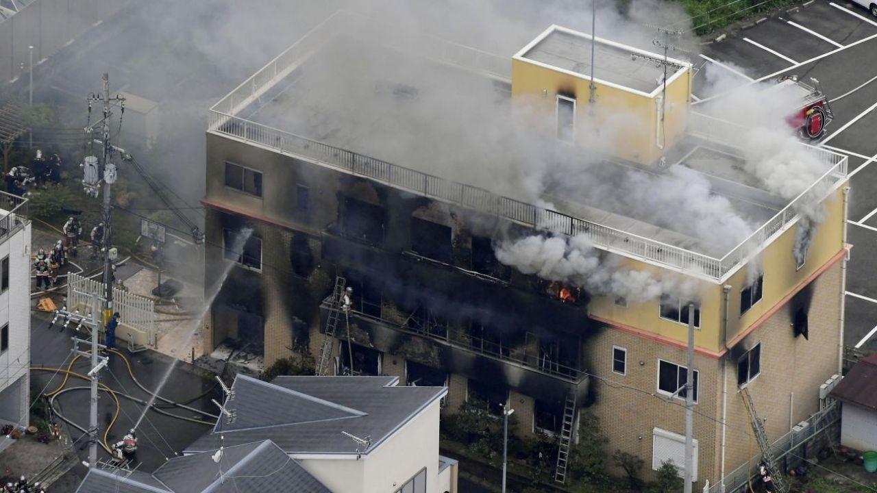Al menos diez muertos en un incendio provocado en los estudios de Kyoto Animation en Japón
