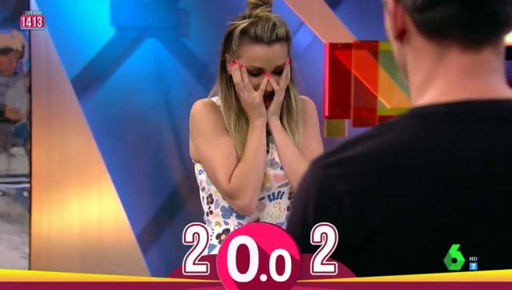 Anna Simon se olvida de Chenoa: así es su divertido fallo en el reto contra Nene