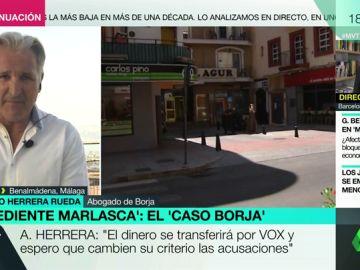 El abogado de Borja, Alfredo Herrera