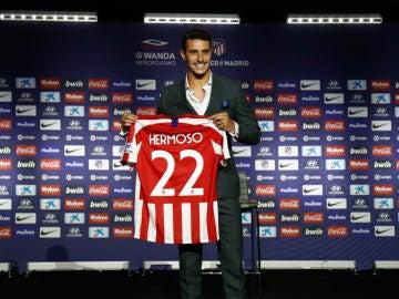 Mario Hermoso, con el 22 del Atlético