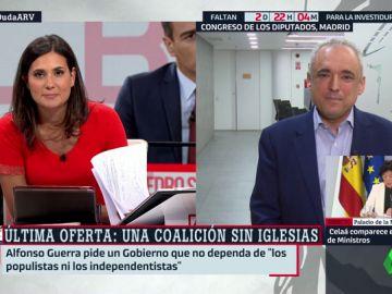 """Rafel Simancas (PSOE): """"En septiembre no va a haber candidato. Que no bloqueen la investidura de Pedro Sánchez"""""""