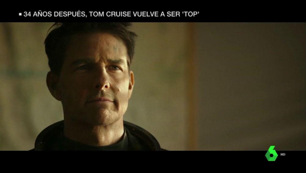 Tom Cruise vuelve a su papel como Maverick en 'Top Gun'