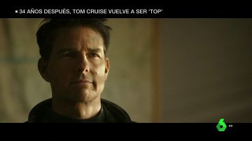 Tom Cruise vuelve a su papel como Maverick en 'Top Gun'