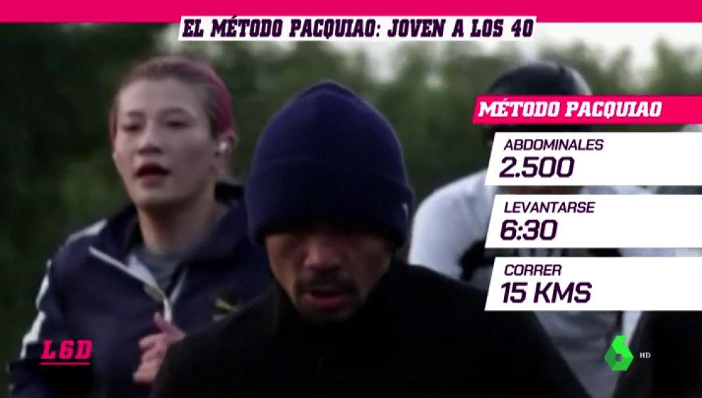 Método Pacquiao: 2.500 abdominales y 15 kilómetros corriendo diariamente