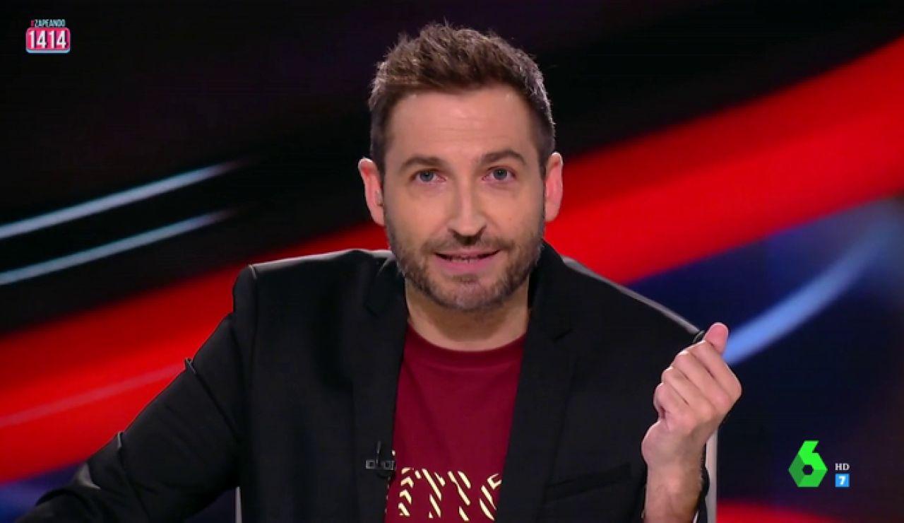 Frank Blanco, presentador de Zapeando