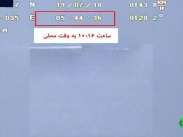 Irán emite un vídeo captado por el dron que EEUU asegura haber destruido