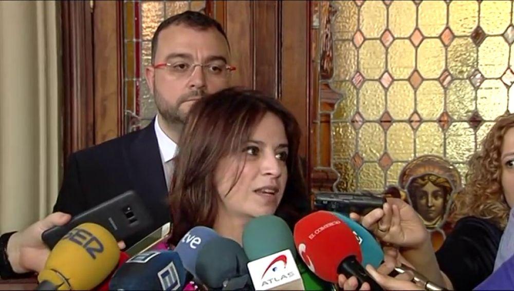 """Adriana Lastra (PSOE): """"El objetivo es que la semana que viene haya un Gobierno a pleno rendimiento"""""""