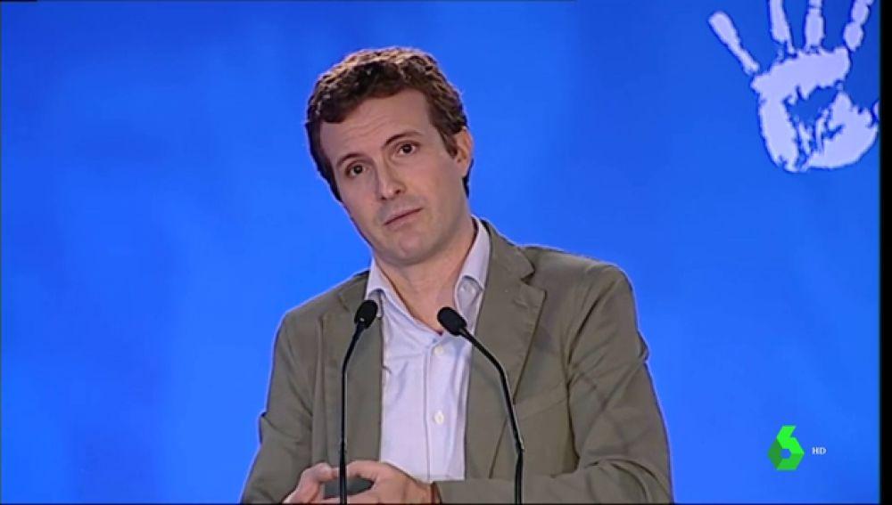 """Pablo Casado critica que pueda haber una """"investidura incierta"""" que se """"cierre de mala manera"""""""