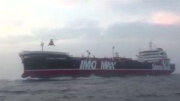 Irán publica un vídeo de la detención del petrolero británico Stena Impero