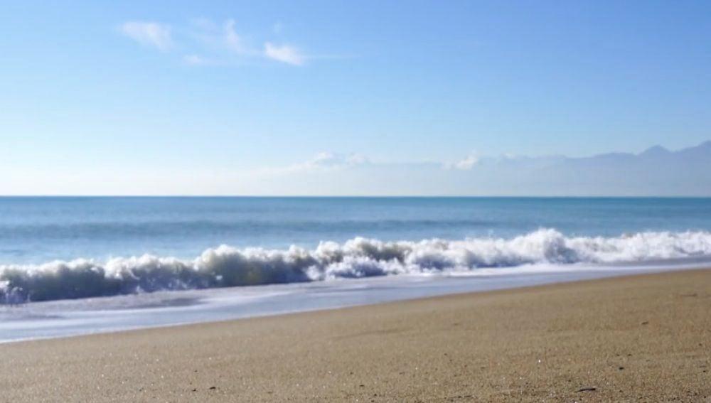 Una playa
