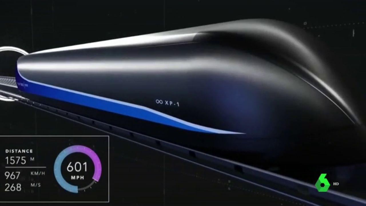 Así nos cambiará la vida el Hyperloop: podremos viajar de Madrid a Barcelona en 30 minutos