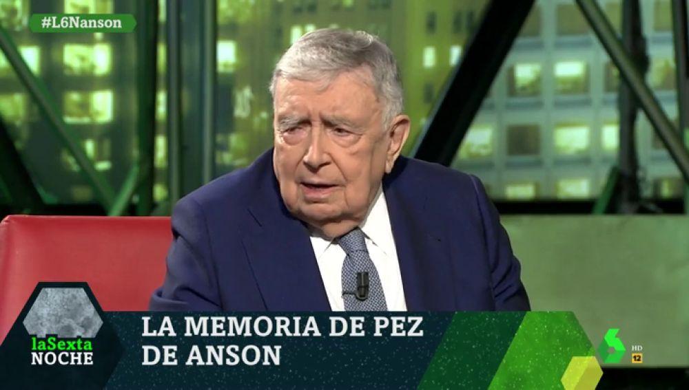 Luis María Anson, en contra de las cuotas en la RAE: