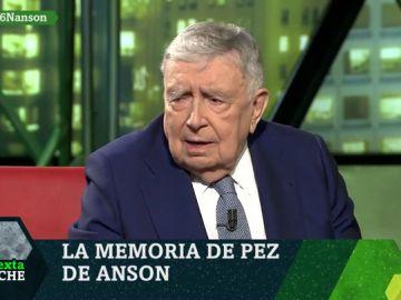 """Luis María Anson, en contra de las cuotas en la RAE: """"Eso es algo ofensivo para la mujer"""""""