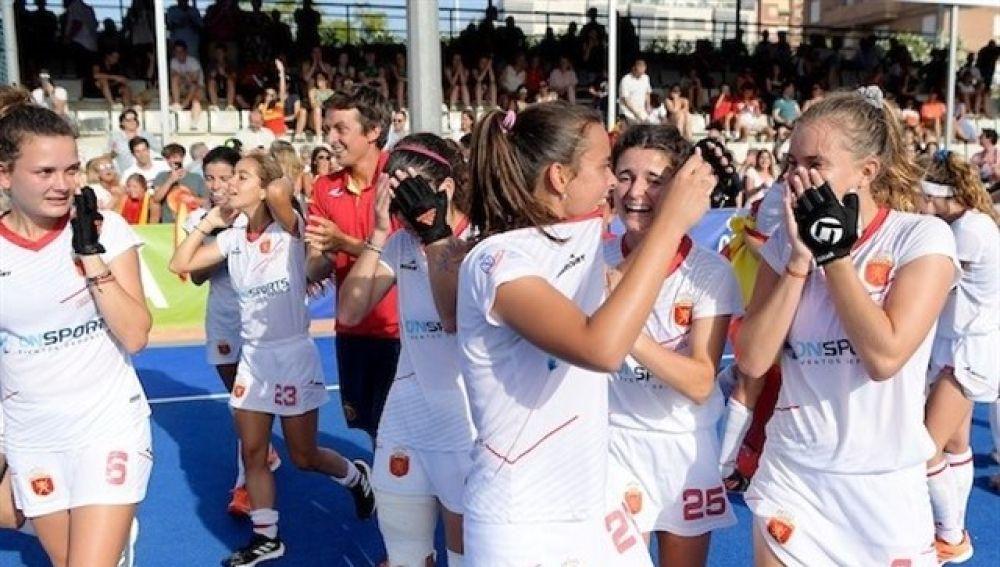 España conquista el Europeo Sub-21 femenino de hockey hierba