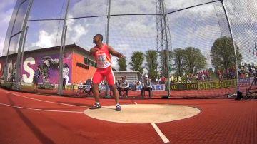 El atleta español Yasiel Sotero