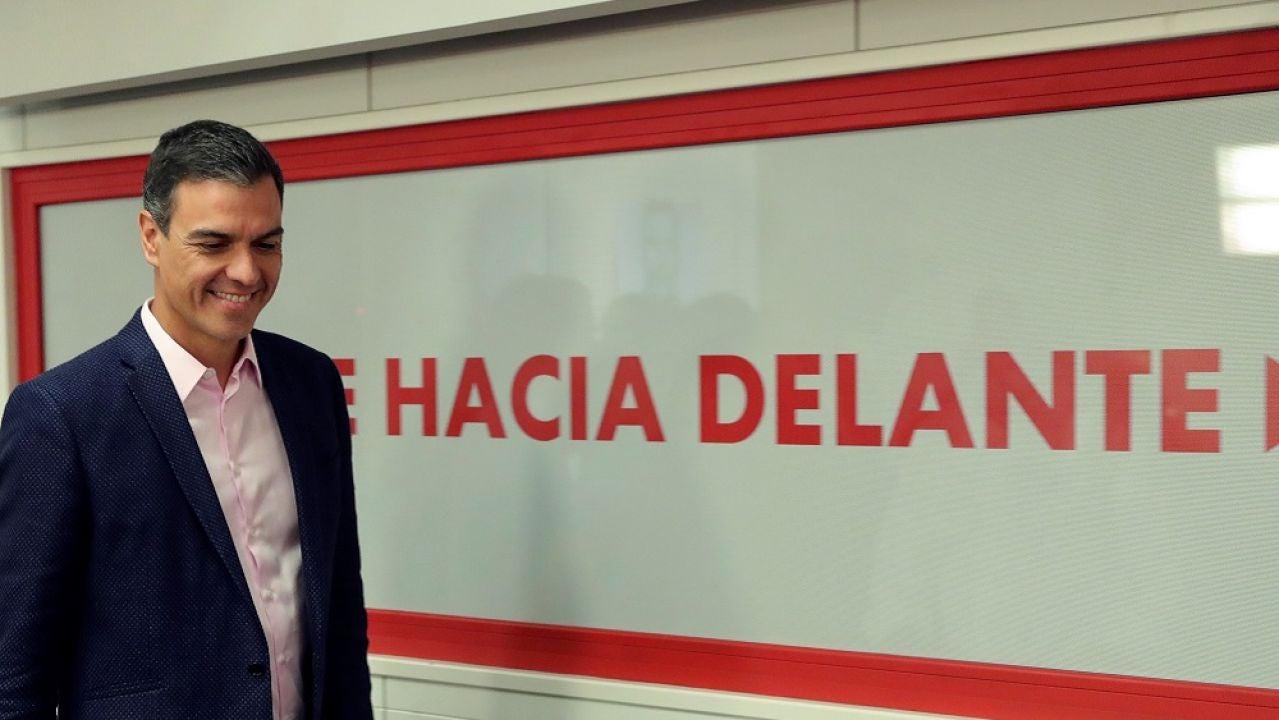 Pedro Sánchez trasladará a la militancia del PSOE si llega a un acuerdo con Podemos