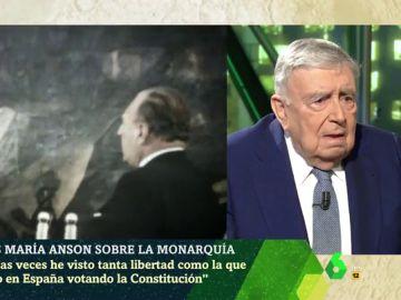 """Luis María Anson defiende la figura de Juan Carlos I: """"Gracias a él se salió de la dictadura con un régimen de libertad plena"""""""