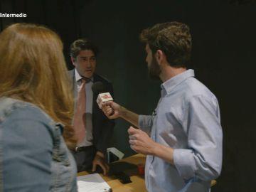 El tenso encuentro entre Gonzo y el alcalde de Alcorcón