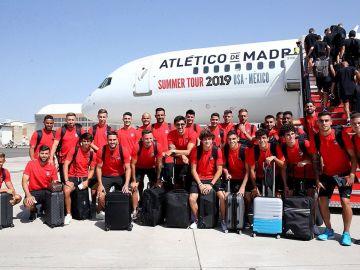 El Atlético, rumbo a EEUU