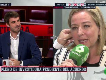 """El tweet de Pablo Simón sobre la retirada de Pablo Iglesias que """"maravilló"""" a Ana Oramas (Coalición Canaria)"""