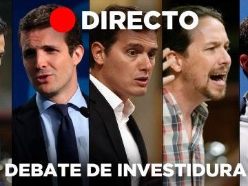Debate de investidura de Pedro Sánchez en directo