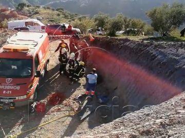 La Guardia Civil confirma que Julen fue sepultado por la tierra que fue arrastrando
