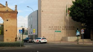 Imagen de archivo de la Audiencia Provincial de Cáceres