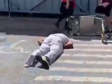 Brutal paliza al guardaespaldas del rapero Future Hendrix en el aeropuerto de Ibiza