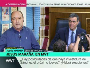 """Jesús Maraña: """"El PSOE no buscaba el acuerdo con toda la fuerza, ahora está otra vez en marcha"""""""