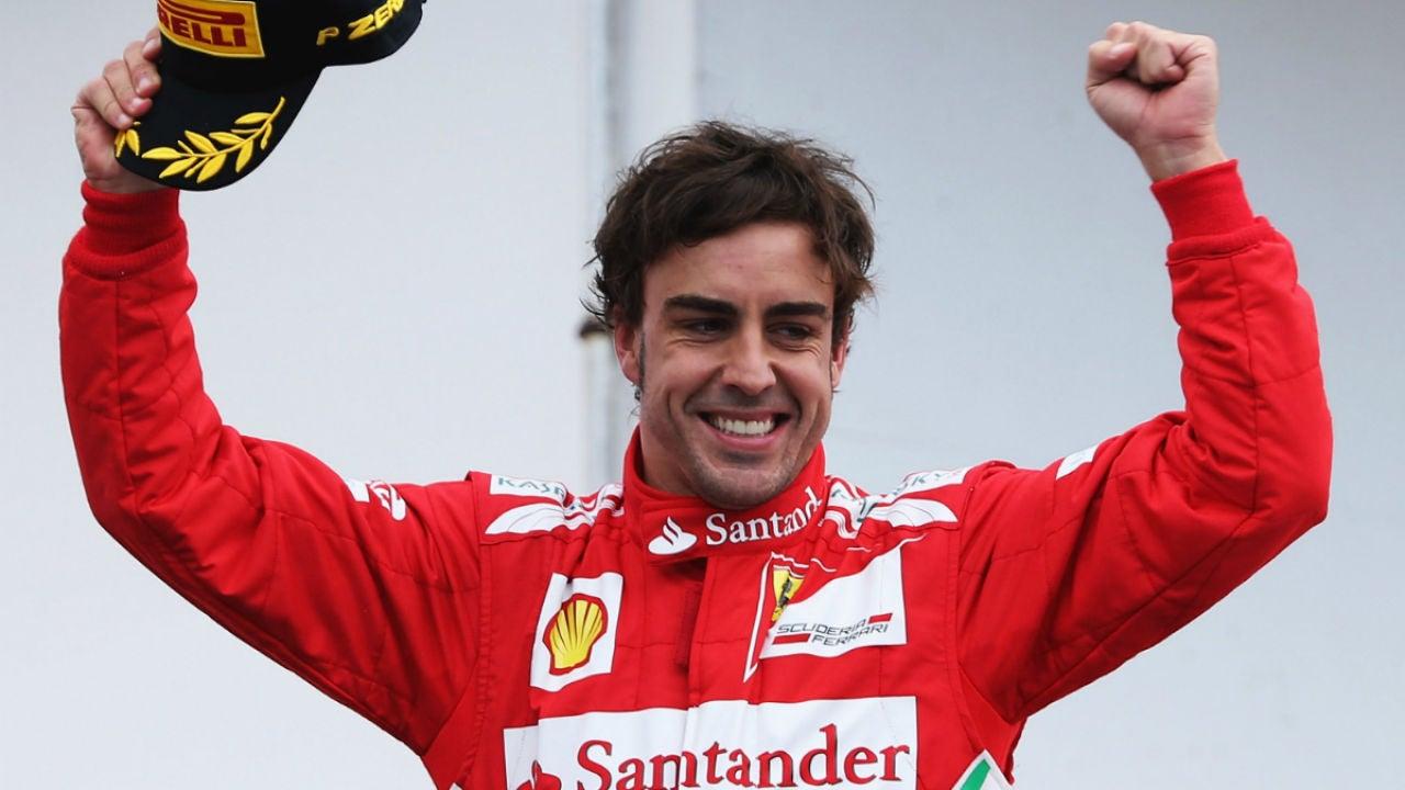 Fernando Alonso, en el GP de Alemania 2012