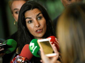 La presidenta de Vox en la Comunidad de Madrid Rocío Monasterio