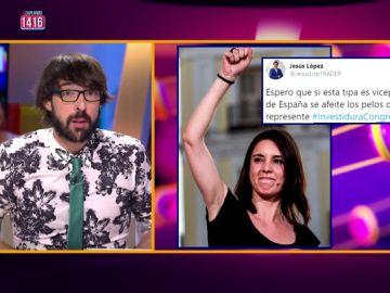 El 'dardo' de Zapeando al machista comentario de un concejal del PP sobre Montero