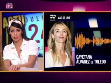 La tajante respuesta de Cristina Pedroche a Álvarez de Toledo