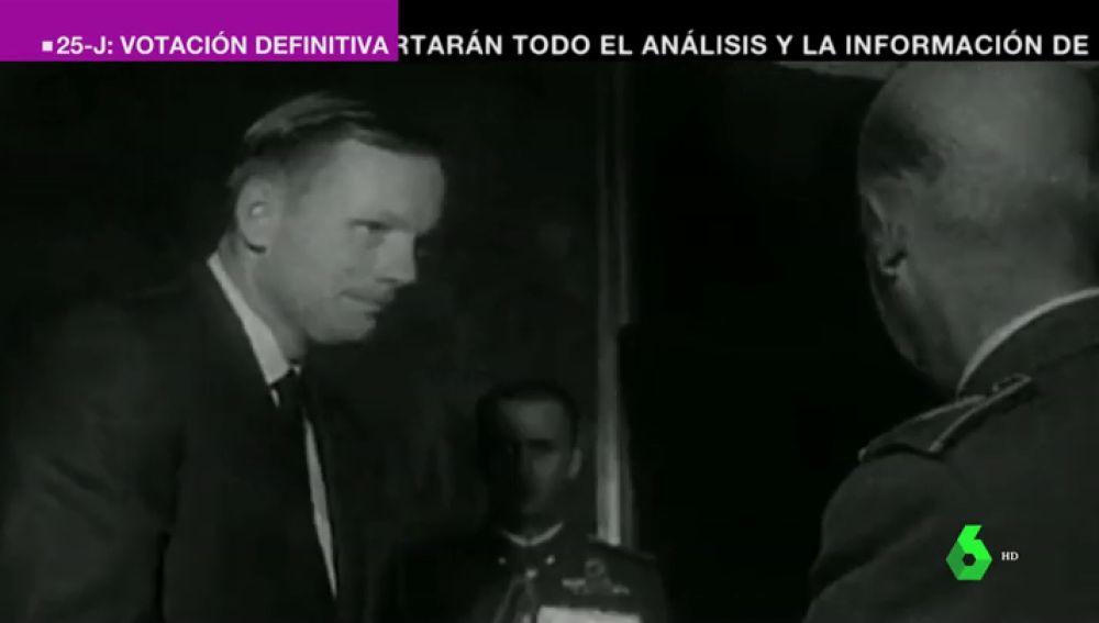 El pintoresco viaje a España de los astronautas del Apolo 11 tras volver de la Luna