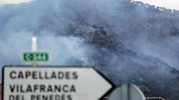 Incendio en Capellades