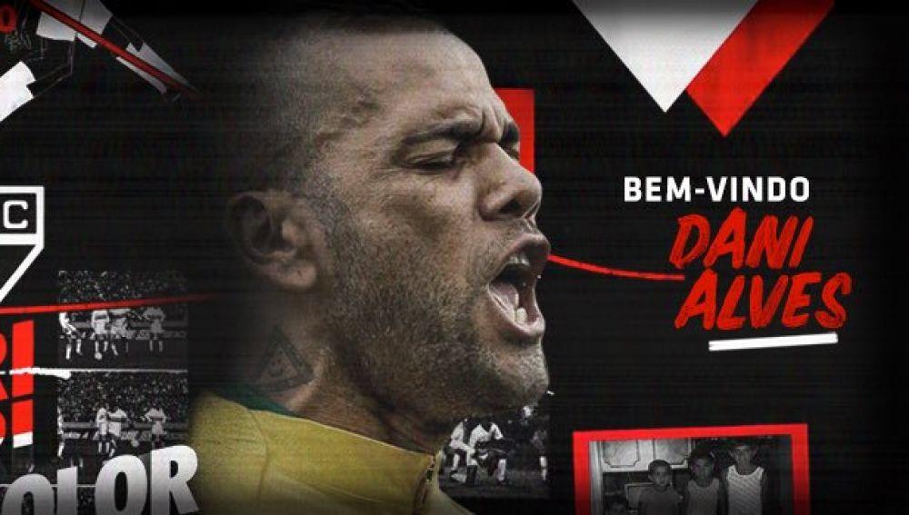 Dani Alves, nuevo jugador de São Paulo