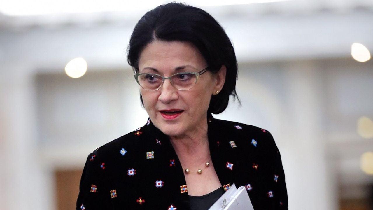 La ministra de Educación de Rumanía, Ecaterina Andronescu