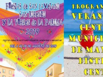 Carteles publicados por el Ayuntamiento de Madrid