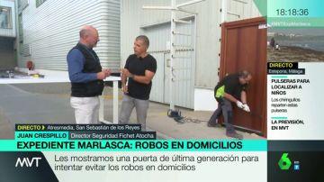 """La """"pesadilla de los cacos"""": Expediente Marlasca pone a prueba una puerta antirrobo de última generación"""