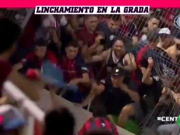Batalla campal entre aficionados de San Lorenzo y de Cerro Porteño
