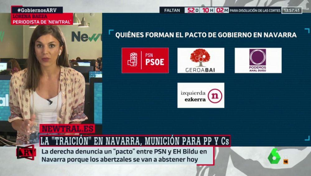 No, el PSOE de Navarra no ha pactado con Bildu: verificamos las declaraciones de PP y Cs sobre la candidatura de María Chivite