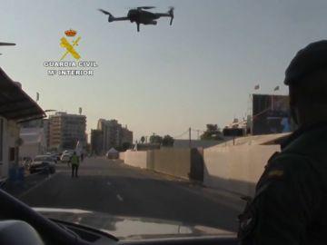 Dron en el Arenal Sound