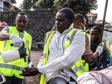El frente humano contra el ébola en la República Democrática del Congo
