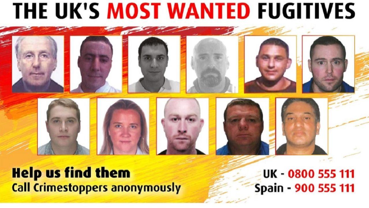 Las autoridades británicas piden encontrar a estos 11 criminales