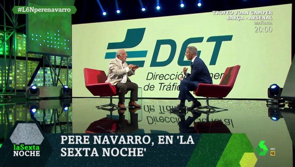 Pere Navarro, en laSexta Noche