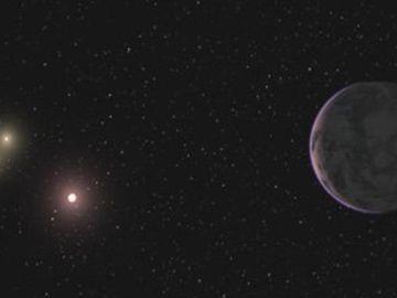 Un planeta con tres soles